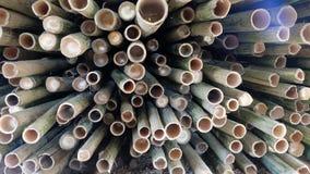 Bamboo pile Stock Photos