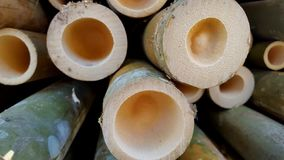 Bamboo piles, the basic ingredients of various handicrafts. Bamboo piles, the basic ingredients of various household handicrafts and art royalty free stock photography