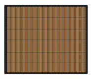 Bamboo place mat Royalty Free Stock Image