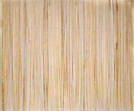 Bamboo place mat Stock Photo
