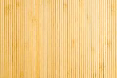 Bamboo Place Mat Stock Images