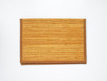 Bamboo place mat Royalty Free Stock Photography