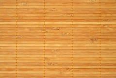 Bamboo place mat Royalty Free Stock Photos