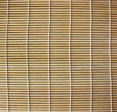 Bamboo place mat for sushi Stock Images