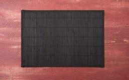 Bamboo place mat Royalty Free Stock Image