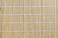 Bamboo placemat Stock Images