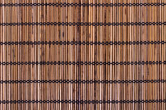 Bamboo placemat Stock Photography