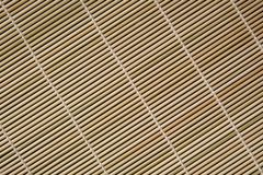 Bamboo placemat abstract Royalty Free Stock Photos