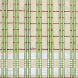 Bamboo placemat background bamboo green tablecloths Royalty Free Stock Photography