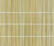 Bamboo placemat straw wood background Stock Images