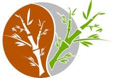Bamboo plants royalty free illustration
