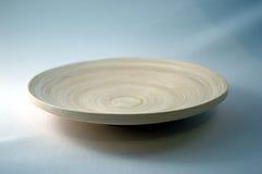 Bamboo Plate Royalty Free Stock Photos