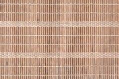 Bamboo Plate Mat Stock Photo