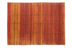 Bamboo plate mat Royalty Free Stock Photos