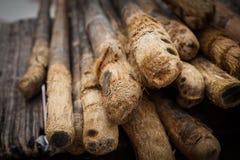Bamboo pole Stock Photography