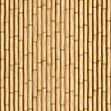 Bamboo pole wood wall Royalty Free Stock Images