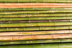 Bamboo Poles Layout Stock Photography