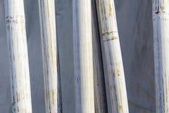 Bamboo poles Royalty Free Stock Image