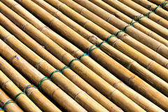 Bamboo raft Royalty Free Stock Image