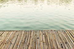 Bamboo raft Royalty Free Stock Photography