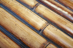 Bamboo raft Royalty Free Stock Photo