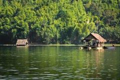 Bamboo rafts- Huai Krathing - loei - thailand Royalty Free Stock Image