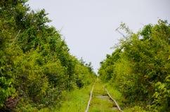 Bamboo Railway, Battambang, Cambodia. September 5, 2015 Stock Photo