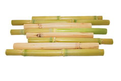 Bamboo rattan tray isolated Royalty Free Stock Photo