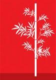 Bamboo. Red colour theme series bamboo Stock Photos