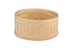 Bamboo rice box. Stock Photography