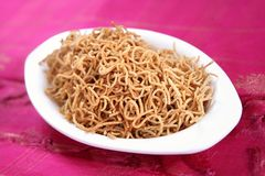 Bamboo rice crom seeds snack/ Moongil arisi Omapodi. Omapodi is an easy snack, its made during Diwali festival, its very nutritional and healthy. Prepared with Stock Photos