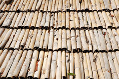 Bamboo roof Royalty Free Stock Photos
