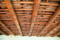 Bamboo roof Stock Photos