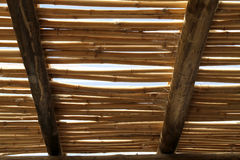 Bamboo roof Royalty Free Stock Photo