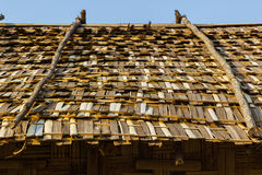 Bamboo roof Royalty Free Stock Photography