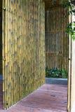 Bamboo room. Stock Photo