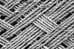 Bamboo rope texture Stock Image