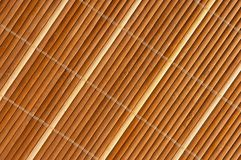Bamboo rug. For background usage Royalty Free Stock Photos