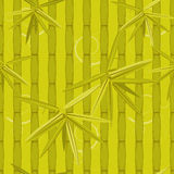Bamboo seamless background Stock Photo