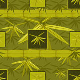 Bamboo seamless pattern Royalty Free Stock Photo