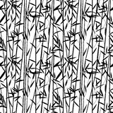 Bamboo seamless pattern Royalty Free Stock Images
