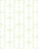 Bamboo Seamless Pattern. Seamless pattern with bamboo on white Royalty Free Stock Image