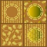 Bamboo set Stock Image