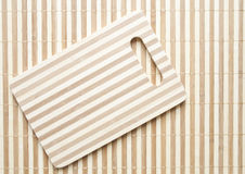 Bamboo sheets Stock Images
