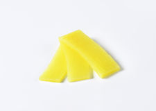 Bamboo shoot slices Stock Images