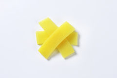 Bamboo shoot slices Stock Image