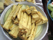 Bamboo shoots Stock Image
