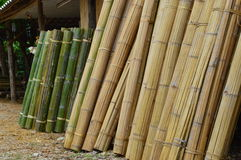 Bamboo shop in Asia Stock Photography