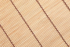 Bamboo Skew Stick Mat Backgroun Royalty Free Stock Image