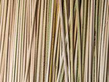 Bamboo skewer background. Bamboo skewer abreast background for barbecued food Royalty Free Stock Image